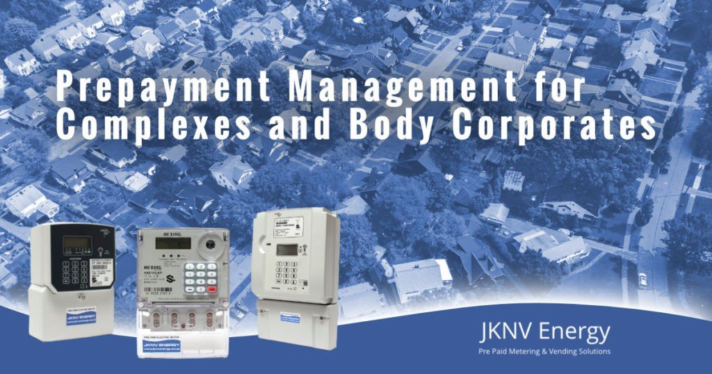 Prepayment Management for Complexes and Body Corporates